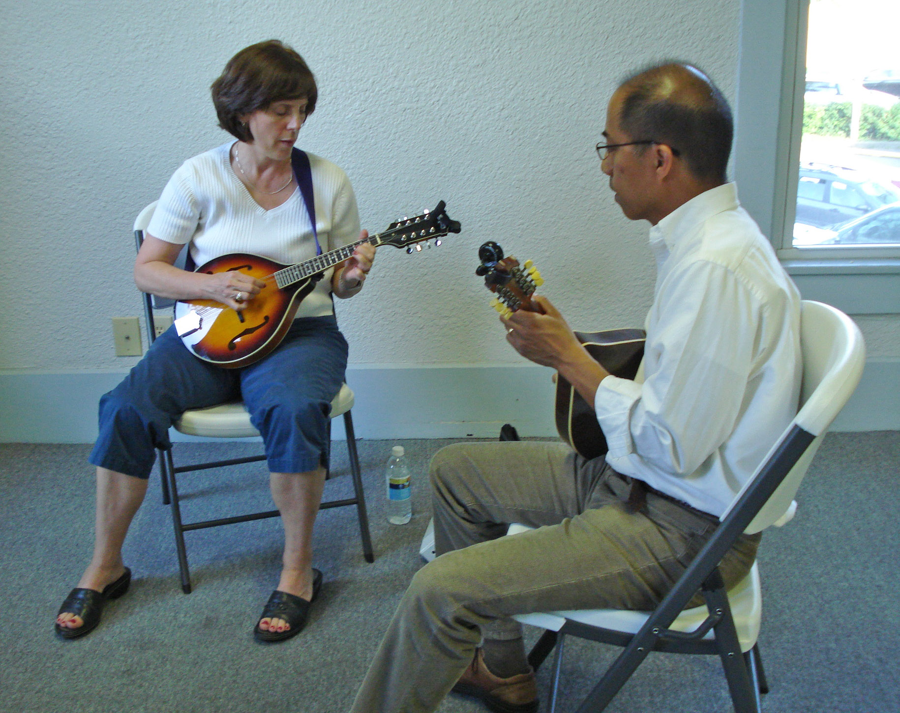 Wednesday mandolin class